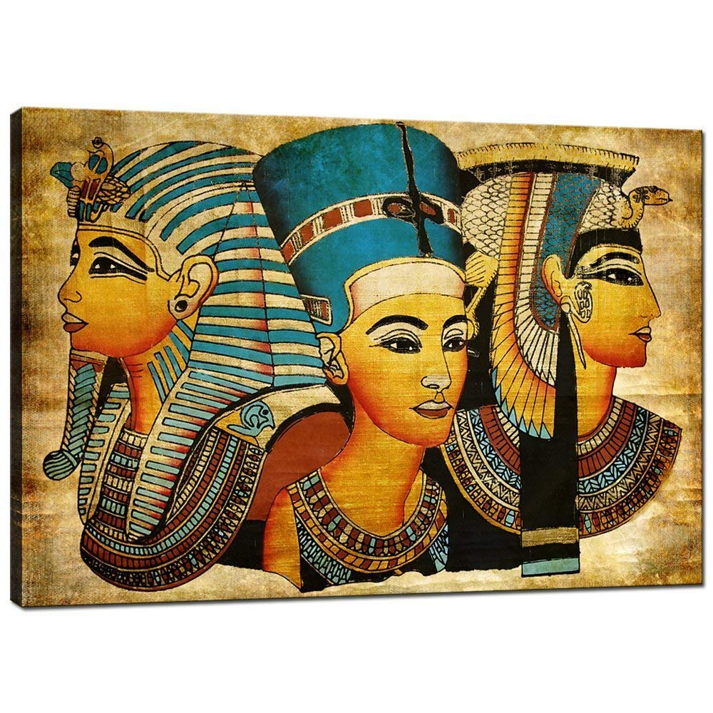 Egyptian Goddesses Epic,Surprise Ancient Vintage Canvas Wall Art ,Elegant Women Wall Art for Home Decor Drop shipping