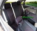 Veeleo + 7 Cores Universal Tampa de Assento Do Carro Para Citroen Elysee PicassoC3 C4 C5 C4l DS4 Carro-cobre com 3D Linho & Silk Capas de Carro