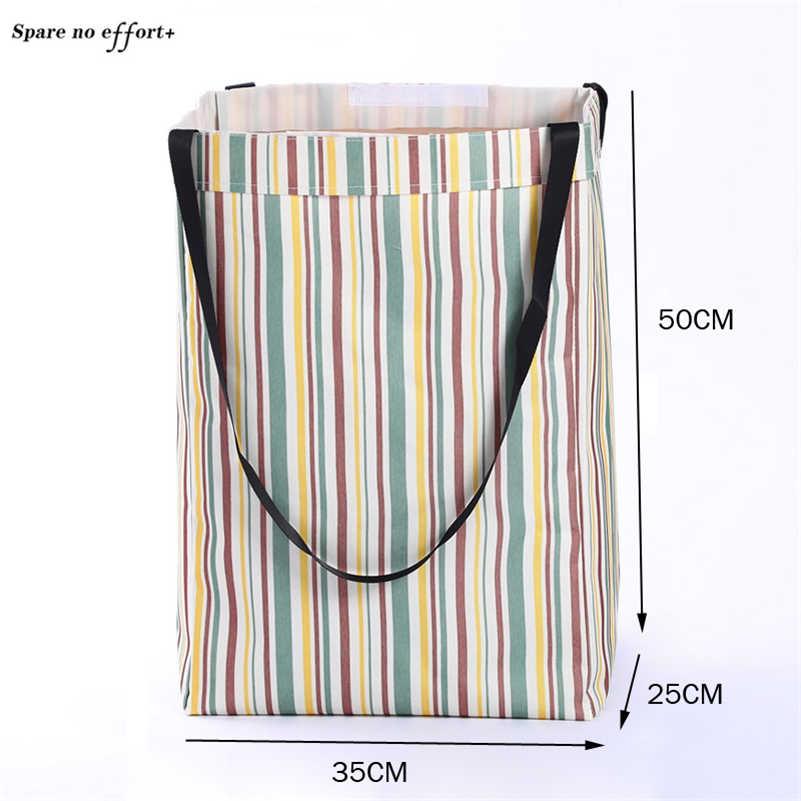 ตะกร้าซักผ้าขนาดใหญ่สำหรับของเล่นคอนเทนเนอร์ Barrel เสื้อผ้าสกปรก Sundries กระเป๋าในครัวเรือนจัดเก็บตะกร้า