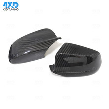 F10 Carbon Fiber Mirror Cover For BMW 5 Series F10 528i 535i Rear View caps Mirror Cover Replacement &add on 2010 2011 2012 2013 цена в Москве и Питере