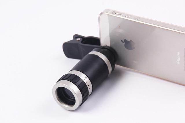 8x18 mobile mini telescope high power high definition low light