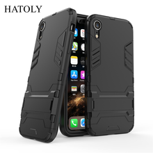 sFor Cover iPhone XR Case Rubber Robot Armor Phone Shell Protective Hard Back Phone Case for iPhone XR Cover for Apple iPhone XR стоимость