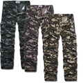 Mens Joggers Brand 2017 Trousers Male Big Yards Camouflage Military Overalls Sweatpants Pants Joggers Cotton Pantalones Casual P