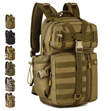 30L Attack Backpack Extend Molle System Outdoor Tactical Backpack Military Army Pack Camo Assault Backpack Sports Rucksack S424