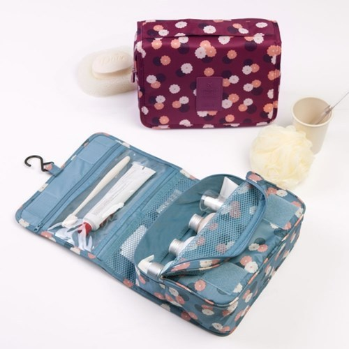 Hot selling portable large capacity washing makeup bag waterproof Storage bag travel artifact supplies