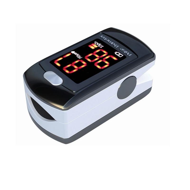 Oximetro de dedo Fingertip Pulse Oximeter CMS50EL Fingertip Finger Pulse Oximeter SPO2 Monitor Blood Oxygen elera portable digital pulse oximeter finger blood oxygen saturometro spo2 monitor spo2 pr pi oximetro de pulso de dedo
