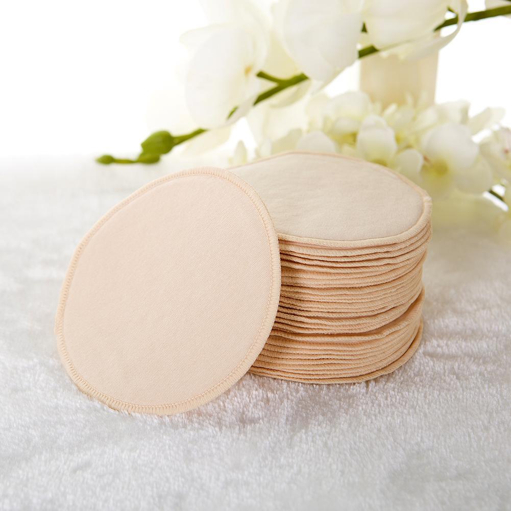 10 PCS Baby Feeding Breast Pad Pure Cotton Thin Breathable Washable Reusable Anti Milk Overflow Maternity Nursing Pad 1