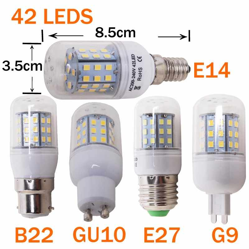 Led Bulb E14 Led Candle Light Bulb Chandelier 220V E27 LED Filament Bulb Vintage Filament Lamp