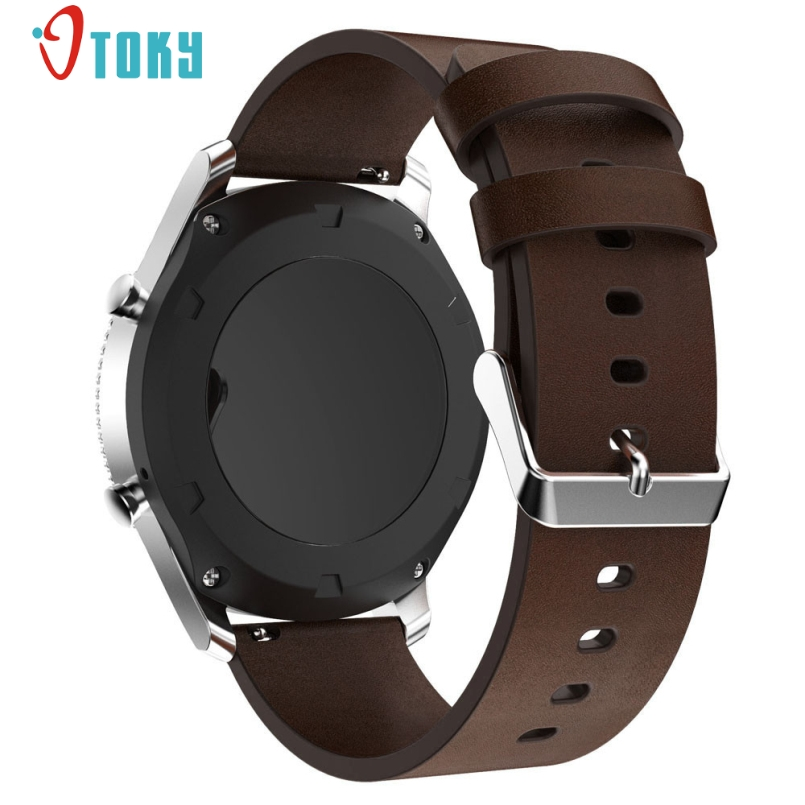 Excellent Quality 2017 Fabulous Replacement Leather Watch Bracelet Strap Band For Samsung Gear S3 Frontier Wholesale
