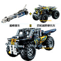 2pcs 2016 NEW Decool 3415-3416 2 in one Technic Race Transformable Model Building Block Sets DIY Toy