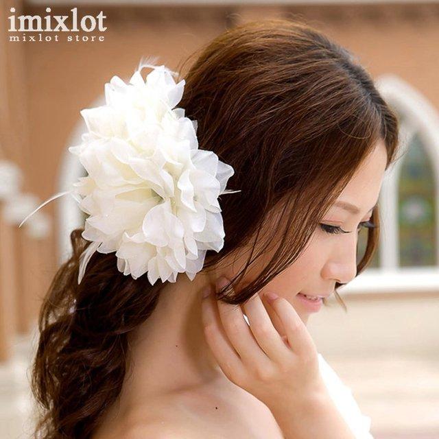 Imixlot 15 цветов Цветок Резинки для волос держатели резинки Обувь для девочек Для женщин волос Галстук ГУМ Ткань Лидер продаж Головные уборы Интимные аксессуары