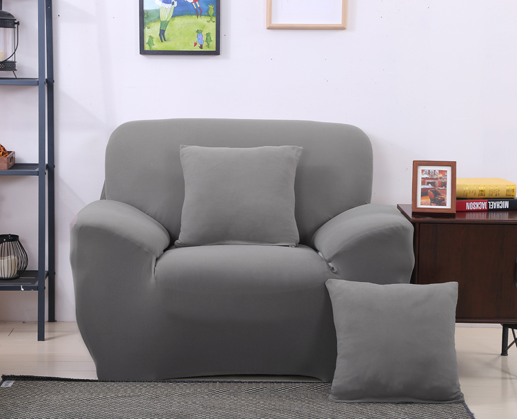 New Arrival Grey Color Spandex Sofa <font><b>Cover</b></font> Furniture Protector Slipcovers Sofa tight wrap elastic sofa <font><b>Cover</b></font>/towel Four Styles