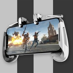 Image 2 - AK16 Metal Smart Phone Mobile Gaming Trigger For PUBG Controller Gamepad  L1R1 Button Aim Shooter Joystick Game Pad