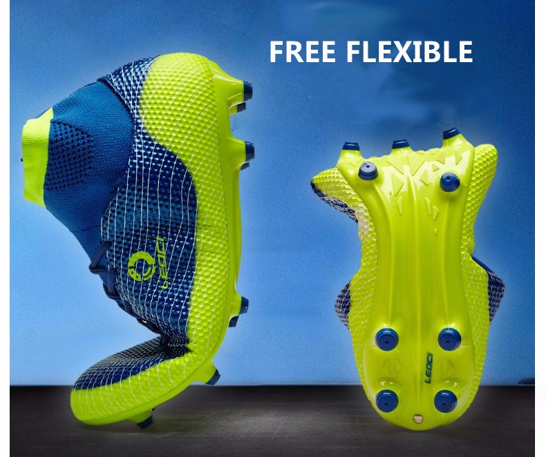 2017 High Ankle Kids Football Boots Superfly Original Cheap Indoor Soccer Football Shoes Cleats Boys Girls Sneakers High Quality 7