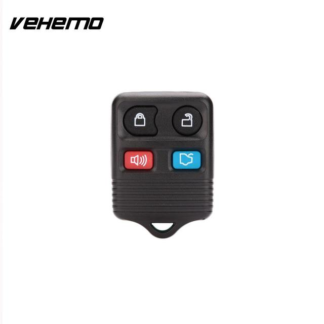 Vehemo 1pcs 4 Replacement Remote Key Shell For Ford Mustang Taurus