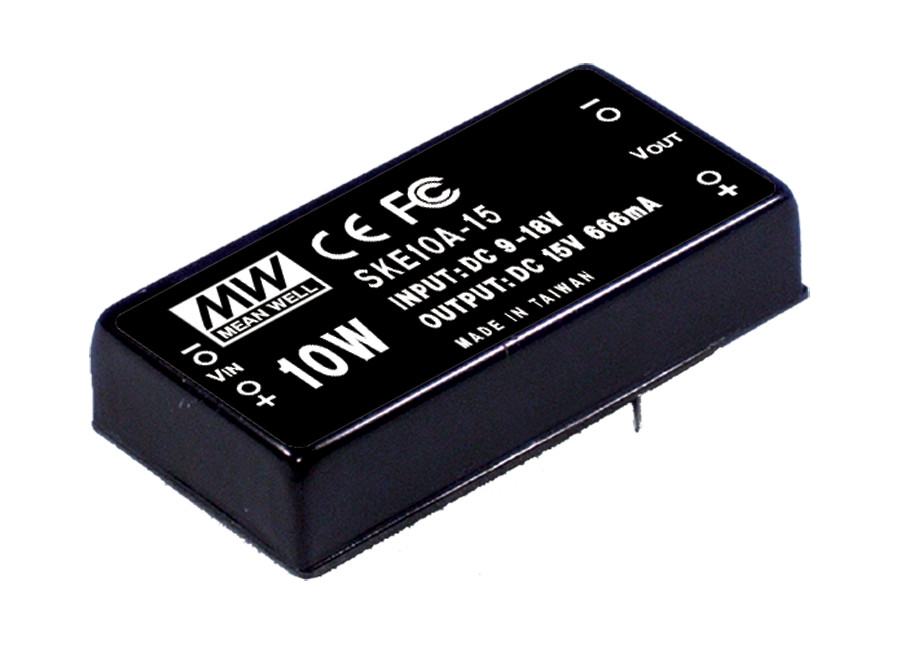 цена на [PowerNex] MEAN WELL original SKE10A-05 5V 2000mA meanwell SKE10 5V 10W DC-DC Regulated Single Output Converter