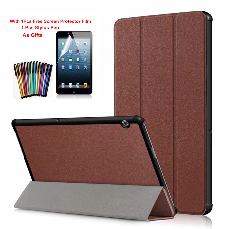 PU Leather Cases For Huawei MediaPad T5 10 AGS2-W09/L09/L03/W19 10.1 Tablet Magnetic Stand Cover For Huawei T5 10 case+Film+PenPU Leather Cases For Huawei MediaPad T5 10 AGS2-W09/L09/L03/W19 10.1 Tablet Magnetic Stand Cover For Huawei T5 10 case+Film+Pen