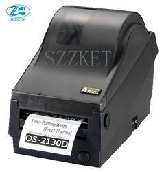 ARGOX OS-2130D termotransferowy klej kod kreskowy drukarki  drukarka etykiet  termiczna kod kreskowy etykieta z kodem drukarki dla OS2130DSingle drukarki