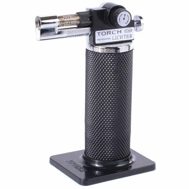 Butane Micro Welding Torches Gas Kitchen Gadget Flame Lightweight  Refillable Craft Compact 1300 Celsius Soldering Burning