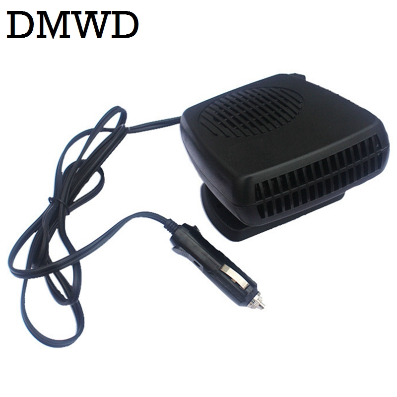 DMWD 12V 24V Portable Auto Car Travel Electric Heater Fan Heating Warmer Vehicle Window glass Defogging Mist Defroster Demister 200w auto car portable heater fan dryer defrost black 12v
