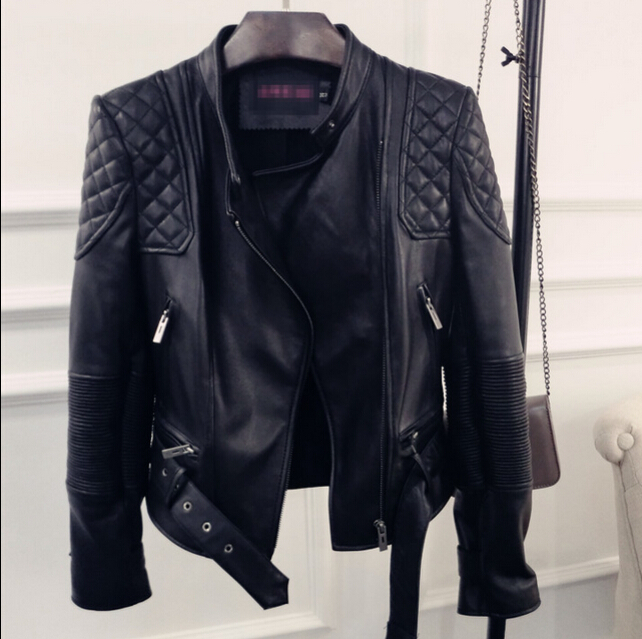 Ladies Real Leather Jackets