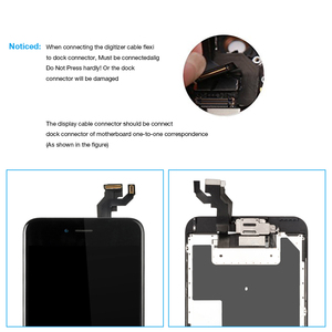 """Image 4 - A1634 A1687 A1699 Full set Display For Apple iPhone 6S Plus LCD Touch Sensor Digitizer Assembly 5.5"""" Screen Home button +Speaker"""