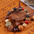 3 UNIDS Unisex natural 18 semillas bodhi granos de rezo de tíbet budista pulsera mala buda encanto brazalete fc163