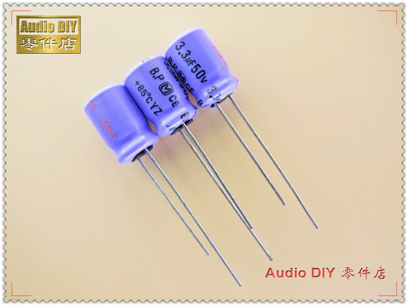 10pcs 100uF 6.3V 6.3x11mm NCC Nippon SME 6.3V100uF BP Capacitor