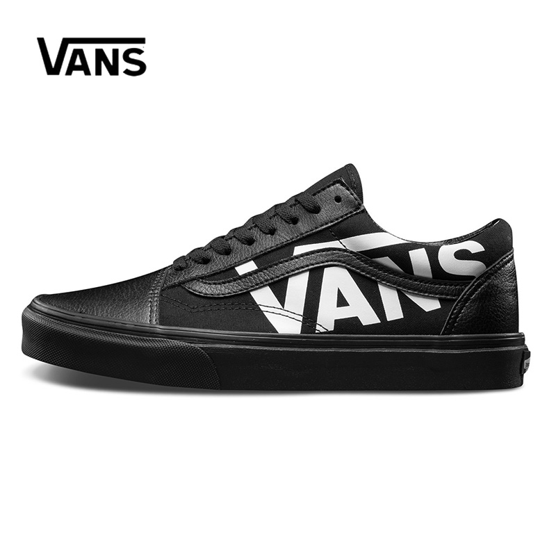 Original Vans Men's & Women's Classic Old Skool Low-top Skateboarding Shoes Sneakers Canvas Leather Comfortable VN0A38G1QW7