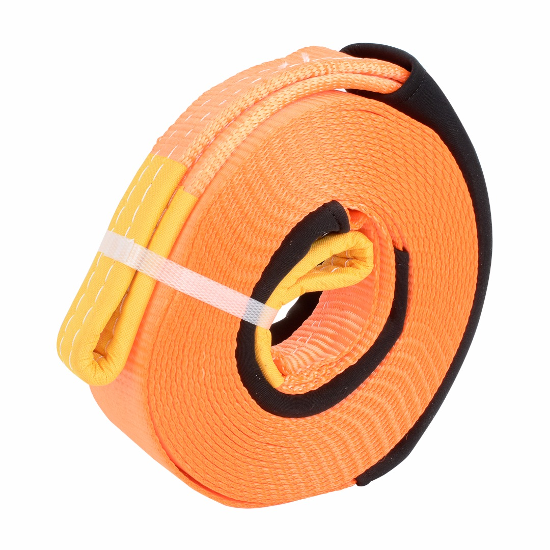 8 Tons 9M/9.5 Tons 10M Tow Cable Strap Towing Pull Rope Extension Snatch Strap for Car 4WD Heavy Duty Road Recovery Towing Rope