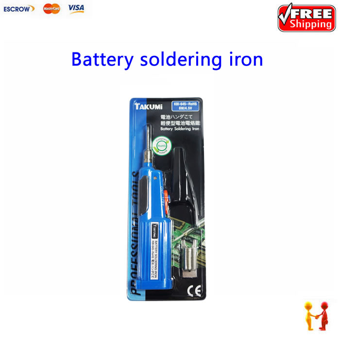 Battery soldering iron KBI-645 6w 4.5v  цены