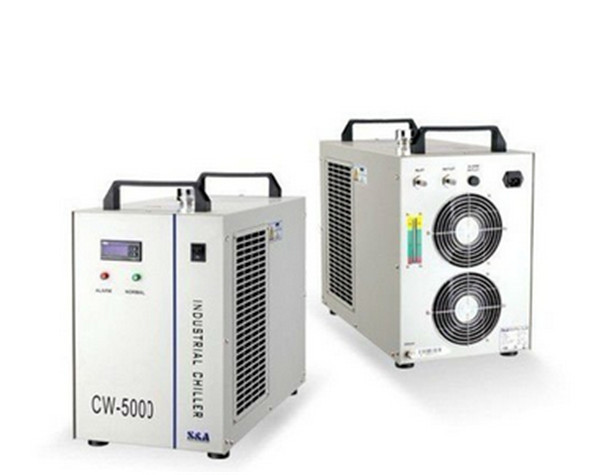 1pc 6L 220V 10M Industrial Laser Water Chiller CW-5000AG hot sell high quality cw3000 water chiller cooling laser tube for laser machine