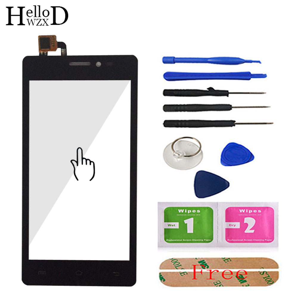 Touch Glass For Prestigio Wize E3 PSP3509Duo PSP3509 PSP 3509 DUO Smartphone Front Screen Digitizer Panel Sensor Tools Adhesive