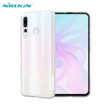 Case For Huawei Nova 4 Cover NILLKIN Ultra Slim Clear Soft Silicone Phone Cases Back Covers Nature Series
