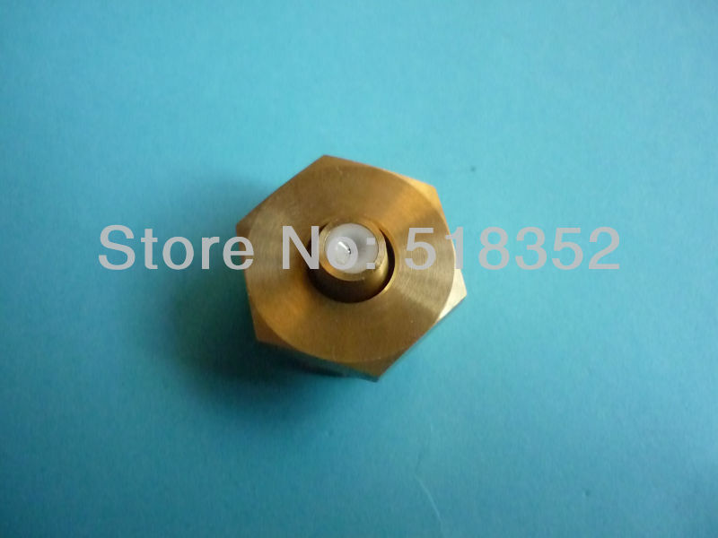 ID0.195mm Diamond Water Nozzle with 50mmx 50mm Water Jet Panel for WEDM-MS Medium Speed Wire Cutting Machine Parts цена