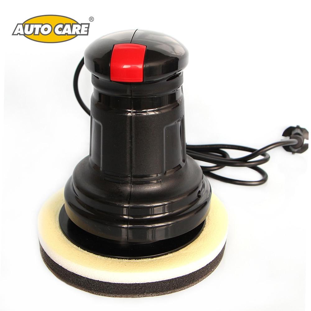 150mm Car Polisher 60W Electric Car Buffer & Sander Kit Car Paint Care Polishing Waxing Machine Palm Polisher Waxer Random Orbit