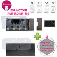 Neway Case Guitar Multi Effect Protector Film for HOTONE AMPERO MP 100 Electric Guitar Pedal Effects Accessories
