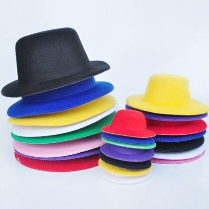 Bjd doll hat accessories velvet small fedoras 6 capitellum ob