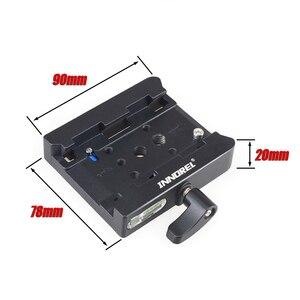 Image 3 - INNOREL P200 Verbeterde Aluminium Legering Quick Release Clamp Kit QR Plaat Adapter Voor Manfrotto 501 500AH 701HDV 503HDV Q5 etc
