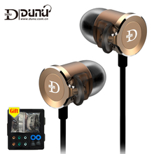 DUNU DN 2000 DN2000 HIFI Earphones Triple Drivers IEM Premium Hybrid 3way in-Ear eadphone