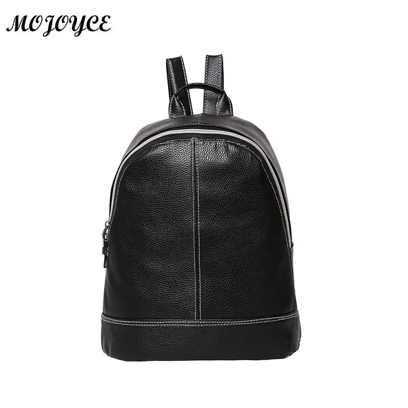 2018 Fashion Women Patent leather Backpack Luxury PU Leather Girls School Bag Female Simple Mini Travel Rucksack Back Pack