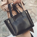 2-in-1 designer Brand Leather bolsas femininas Women bag ladies Pattern Handbag Shoulder Bag Female Tote Sac Crocodile Bag