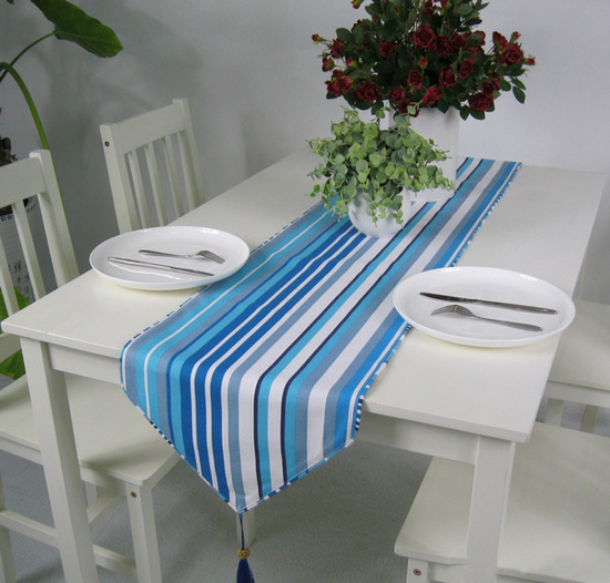 Thick Cotton Canvas Table Runner Black And White Striped Table Flag Free  Shipping In Table Runners From Home U0026 Garden On Aliexpress.com | Alibaba  Group
