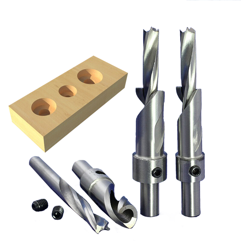 1pc 10mm SHK A Series High Speed Steel CNC Broach Hole Tools Bore Hole Bits HSS Step Drill Salad Drill Woodworking Drills