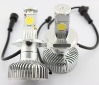 YY COB Auto Led Scheinwerfer H4 Crees 45 Watt, H4 Auto-led-scheinwerfer 4000lm/set, Auto H4 Led-scheinwerfer Birne, H4 Led Stirnlampe