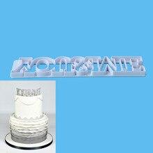 You & Me Plastic Fondant Cutter Cake Mold Decorating Tools Sugarcraft Bakeware
