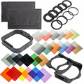 38 in1 All In One Graduated Neutral Density ND Color filter set Holder for Cokin P Series Digital Camera Filters Kit