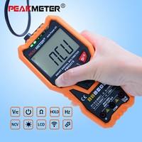 PEAKMETER DC/AC Smart Full Auto Range Digital Multimeter NCV Frequency Temperature Capacitance Tester PM8247S/PM8248S