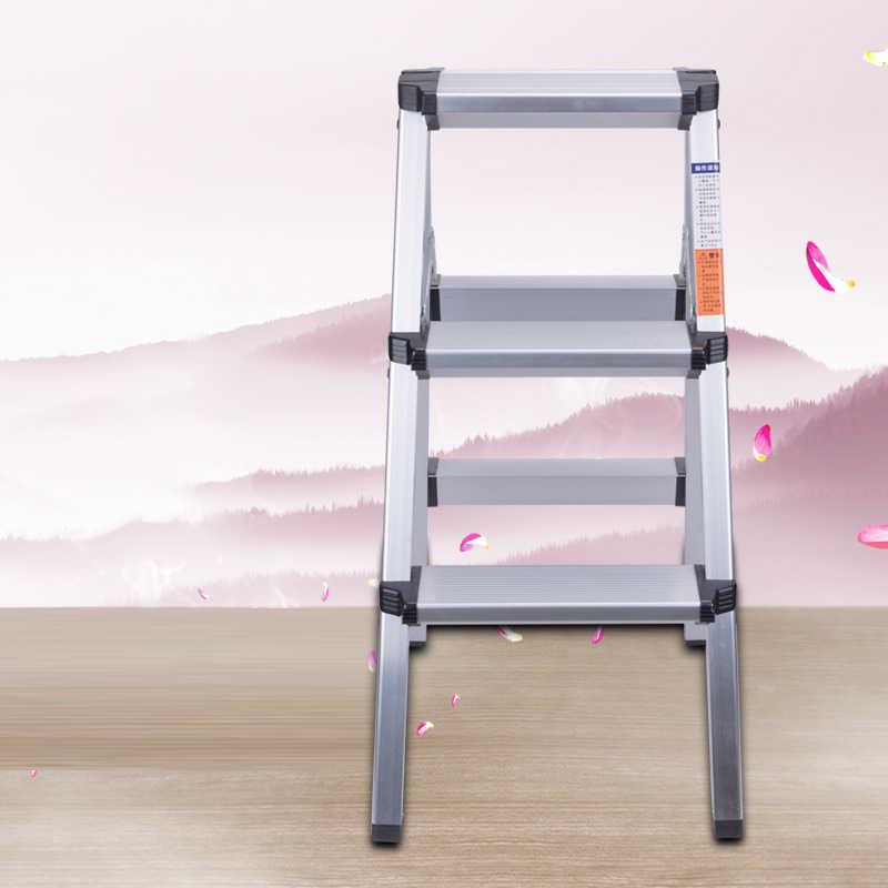 74 см стул наружная Выдвижная складная алюминиевая елочка лестница многоцелевой дом библиотеки Инженерная лестница CE EN131 стул