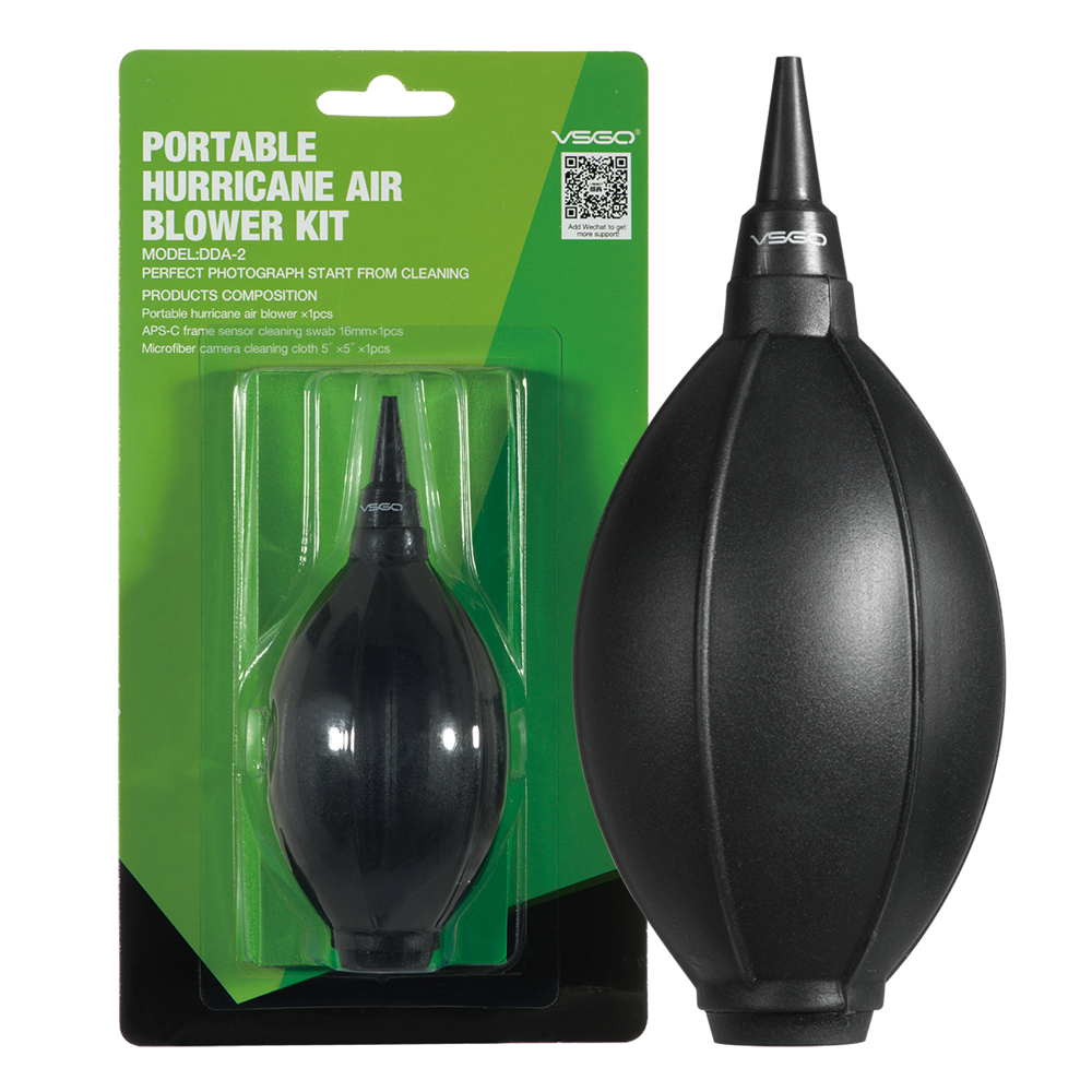Brand New VSGO de înaltă calitate portabil Hurricane Air Suflantă Kit Profesionale Camera de curățare Air Slow Blower Tool.